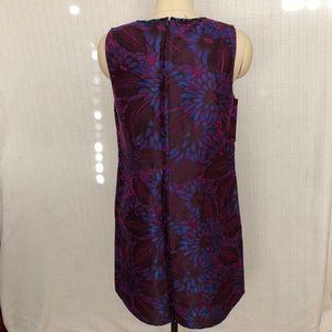 J. Crew Dresses - J Crew Shift Dress Midnight Floral Jacquard